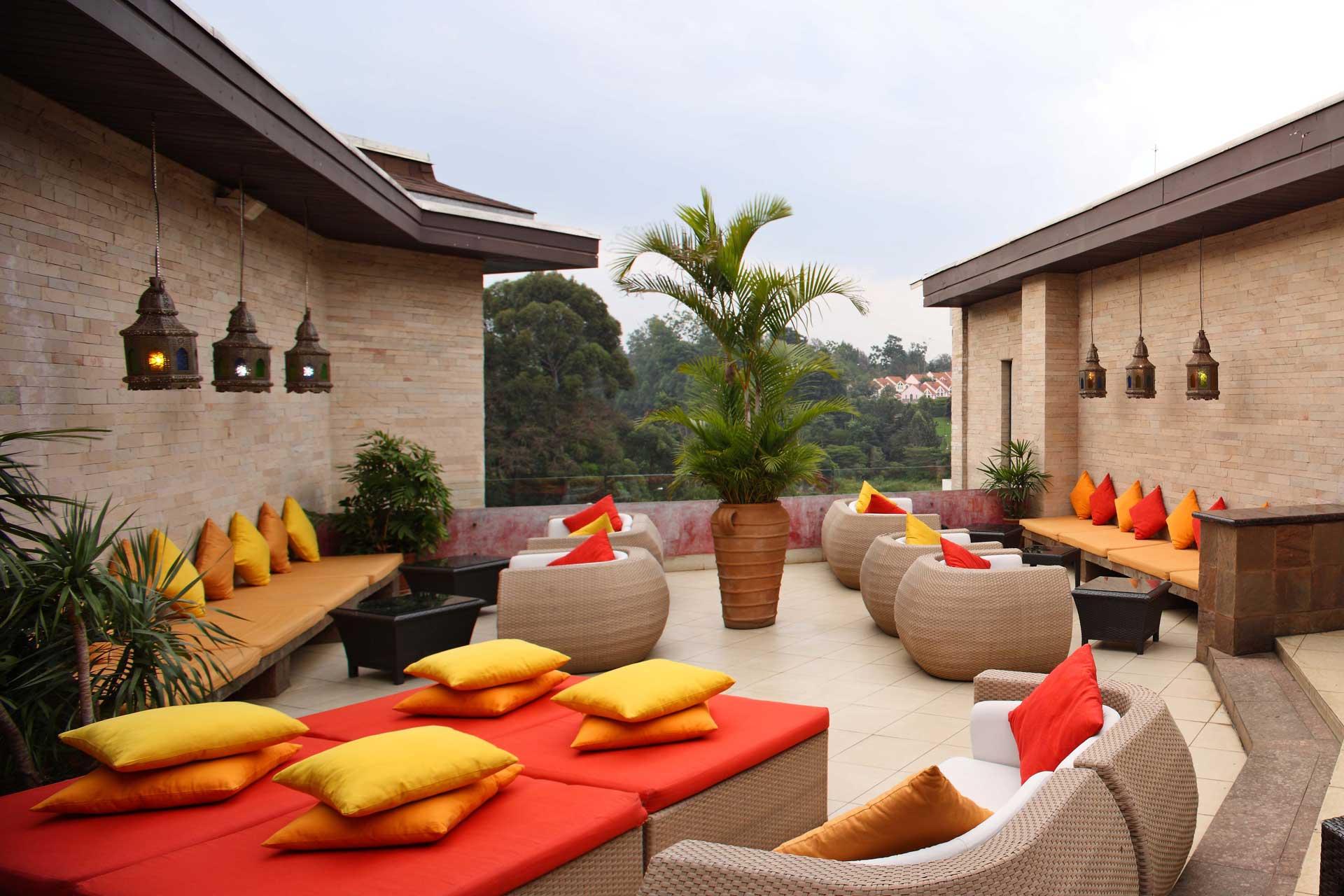 nest rooftop bar hotel nairobi