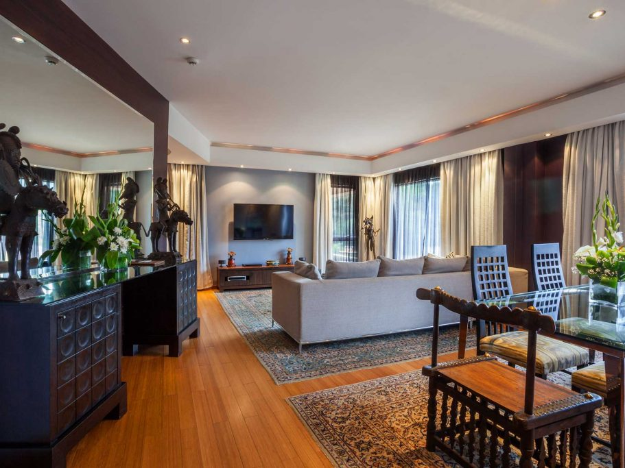 presidential suite living room hotel nairobi