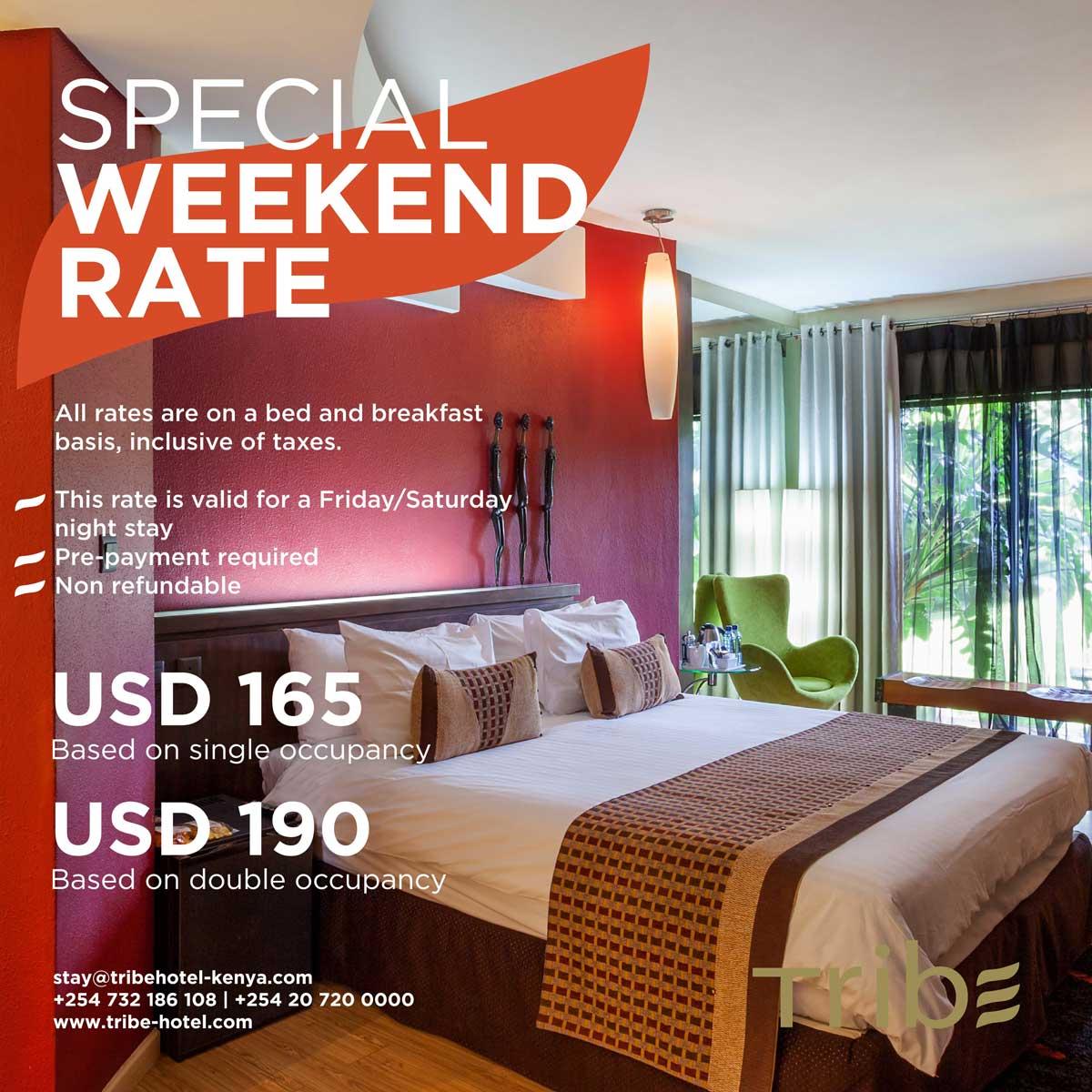 Special weekend rate
