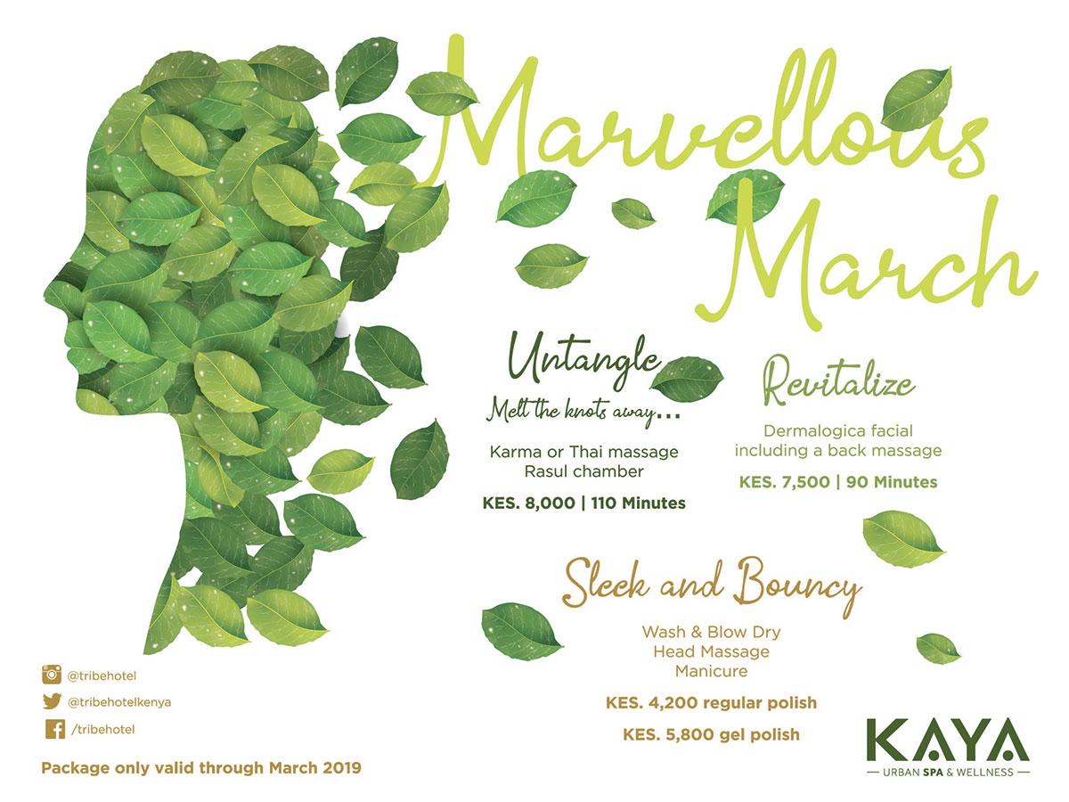 kaya spa march offer
